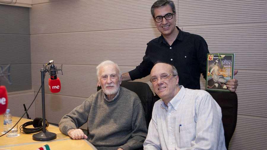 Eduardo Martínez de Pisón, Arturo Martín y Carlos Uriondo