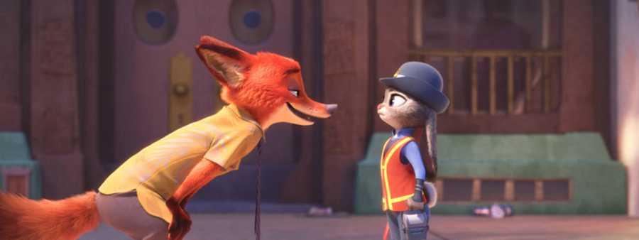 Judy y Nick, enemigos naturales condenados a entenderse