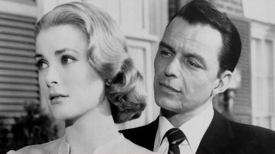 Frank Sinatra con Grace Kelly