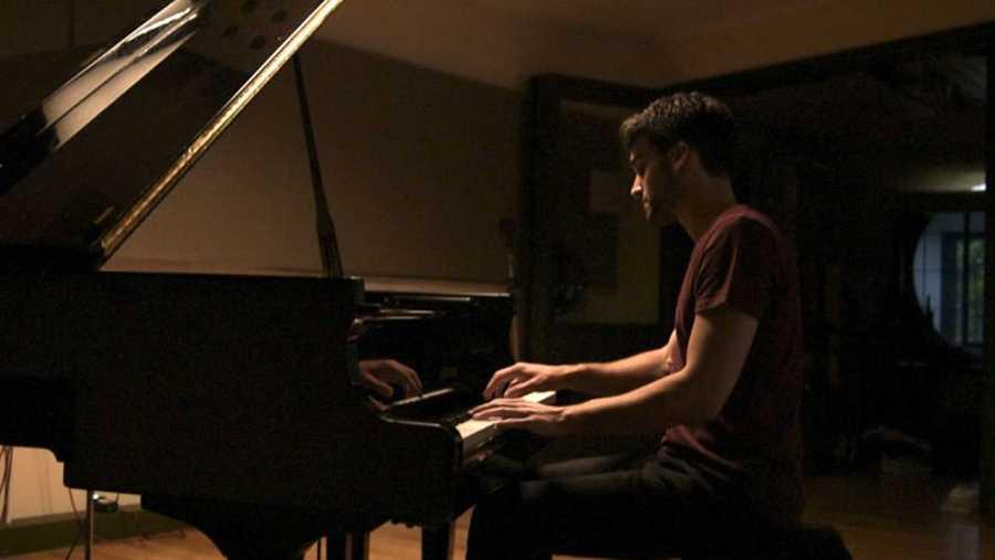 El compositor gallego Nico Casal