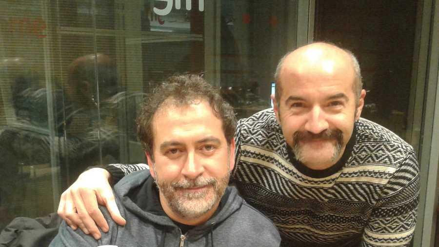 Rulo Pardo y Santiago Molero