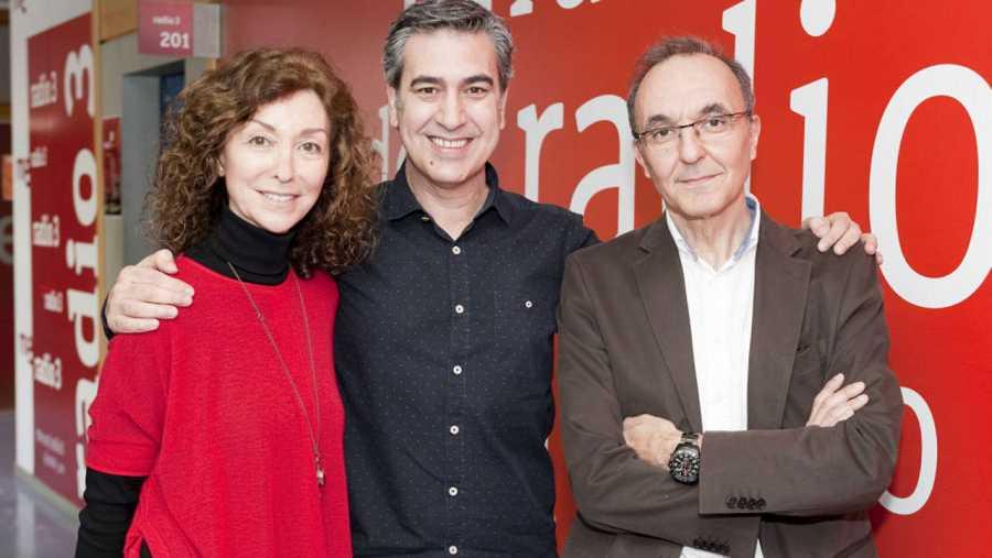 Yolanda Flores, Arturo Martín y Gerardo Sánchez, en Rne