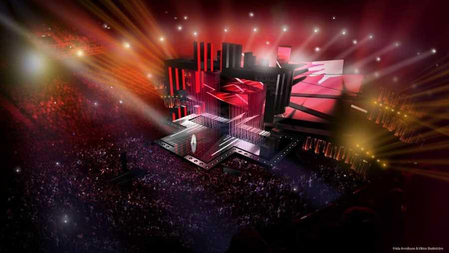 Diseño de escenario de Eurovisión 2016