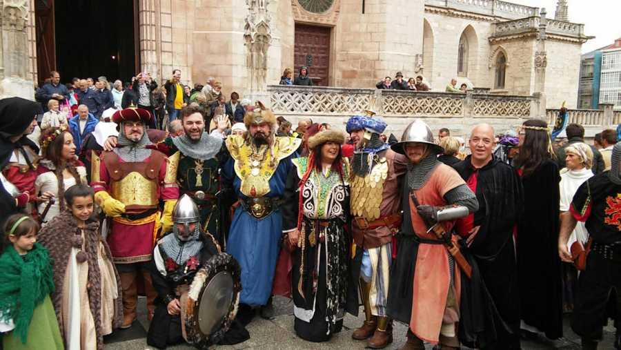 Grupo de Cidianos en Burgos