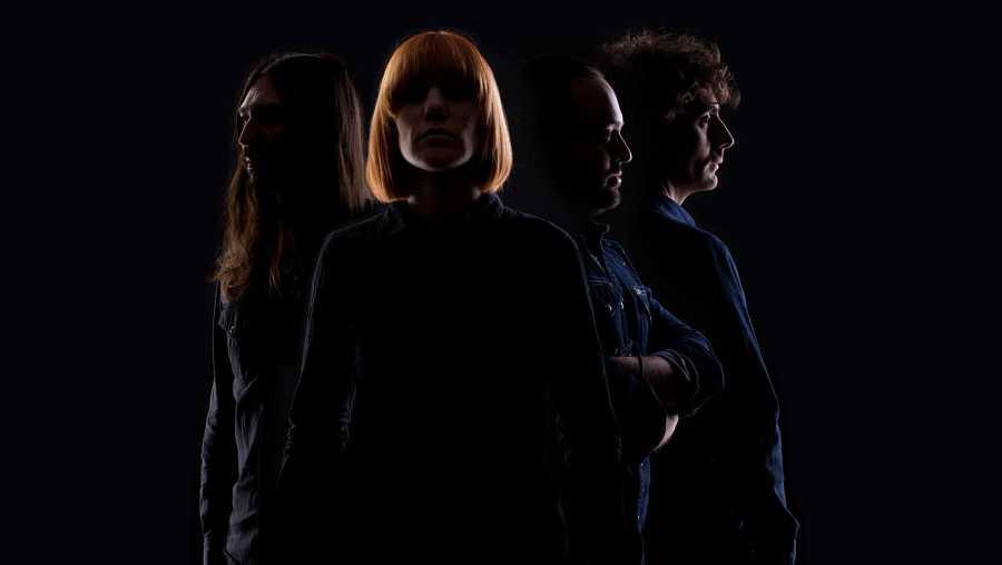 Aurora García & the Betrayers, en una imagen promocional