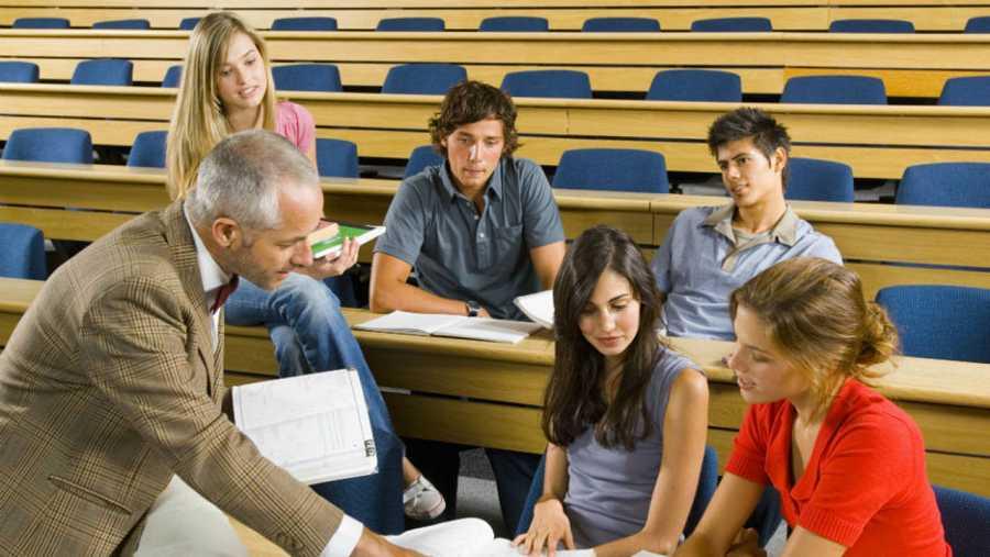 Profesores y alumnos trabajan en las competencias curriculares