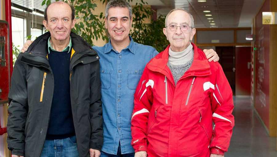 Javier Cilleruelo, Arturo Martín y José María Letona, en Rne Madrid