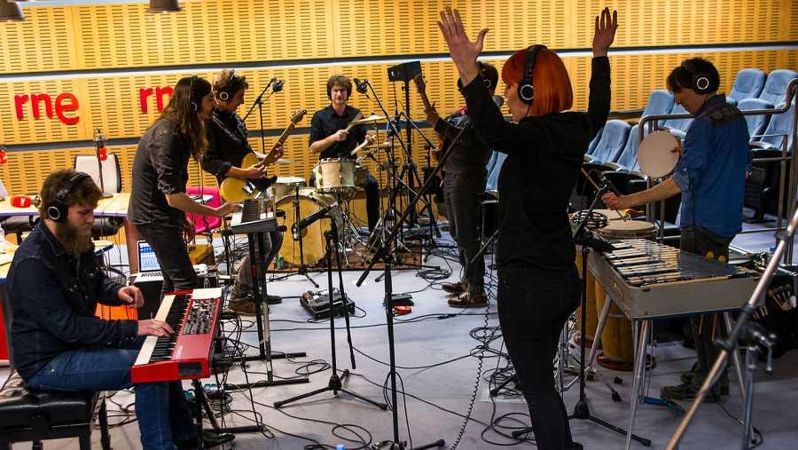 La banda presentó algunos de los temas incluidos en 'Vudú'