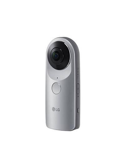 La compañía coreana LG se ha sumado a las cámaras de 360 grados con la LG Cam 360.