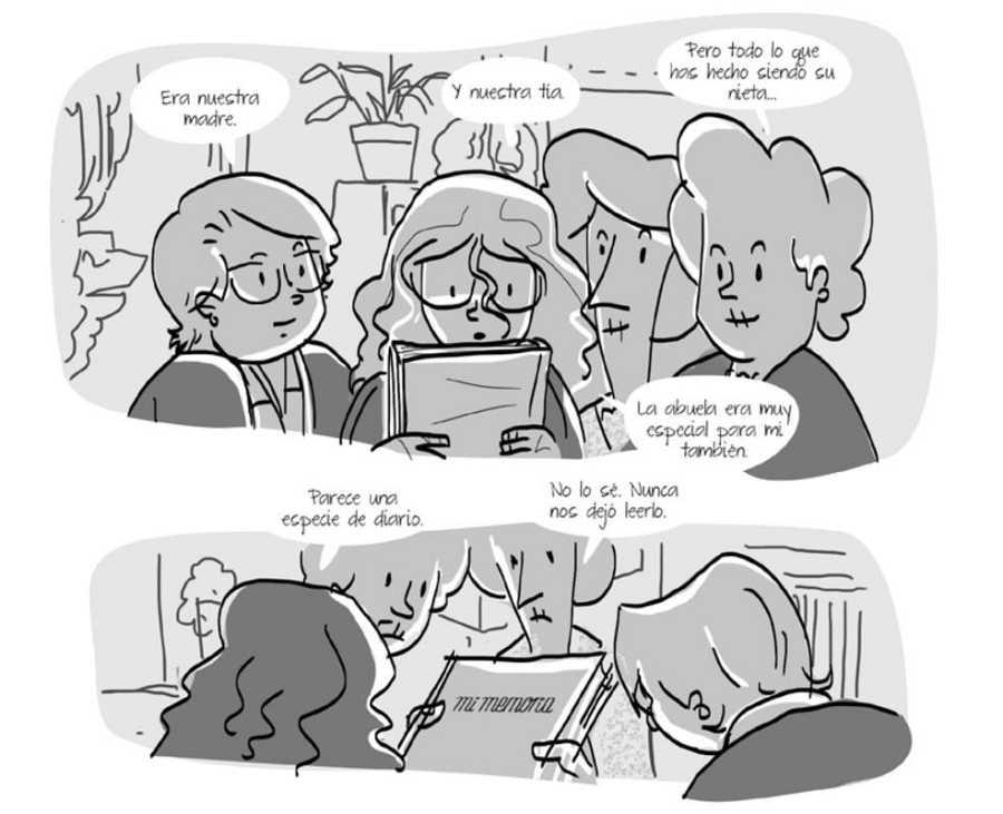 Viñetas de una historieta de Infame & co