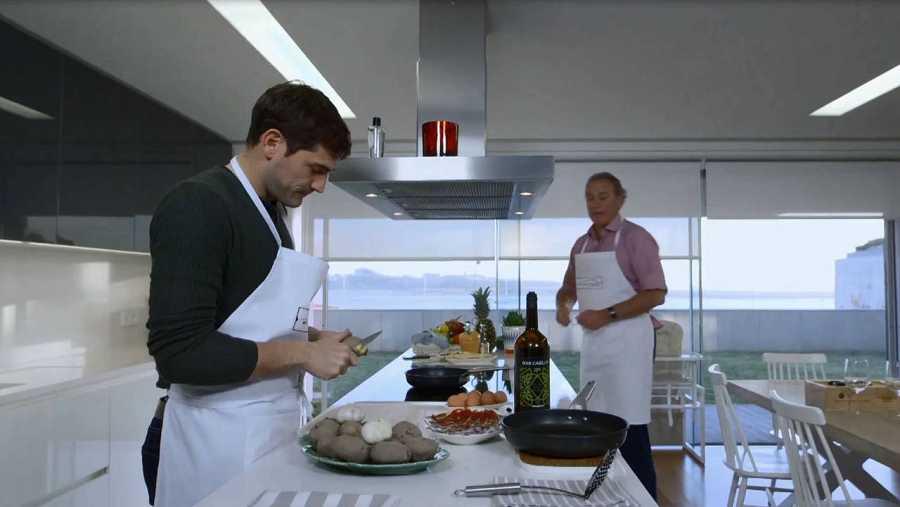 La cocina de Iker Casillas y Sara Carbonero