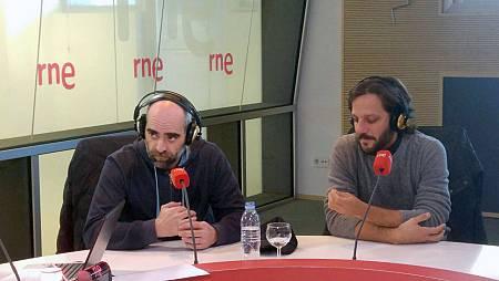 Luis Tosar y Rodrigo de la Serna.
