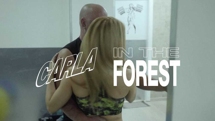 carla in the forest