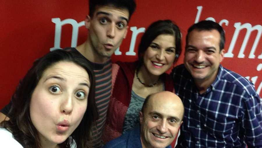 Pepe, Elena, Samuel, Camila y Daniel
