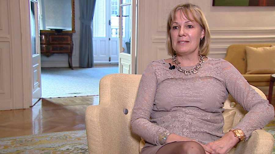 La embajadora de Suecia en España, Cecilia Julin