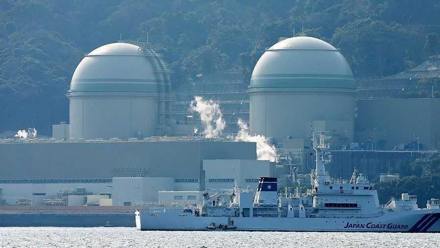 Imagen de archivo (26 de febrero de 2016) de la central de Takahama, en el oeste de Japón. AFP / JIJI PRESS