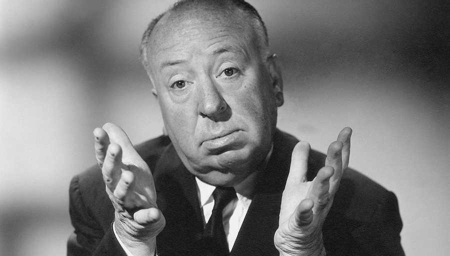 Alfred Hitchcock, director de cine y productor británico