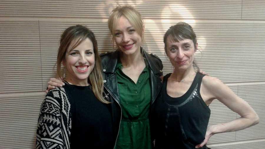 Celia de Molina, Sara Gómez y Carmen Mayordomo