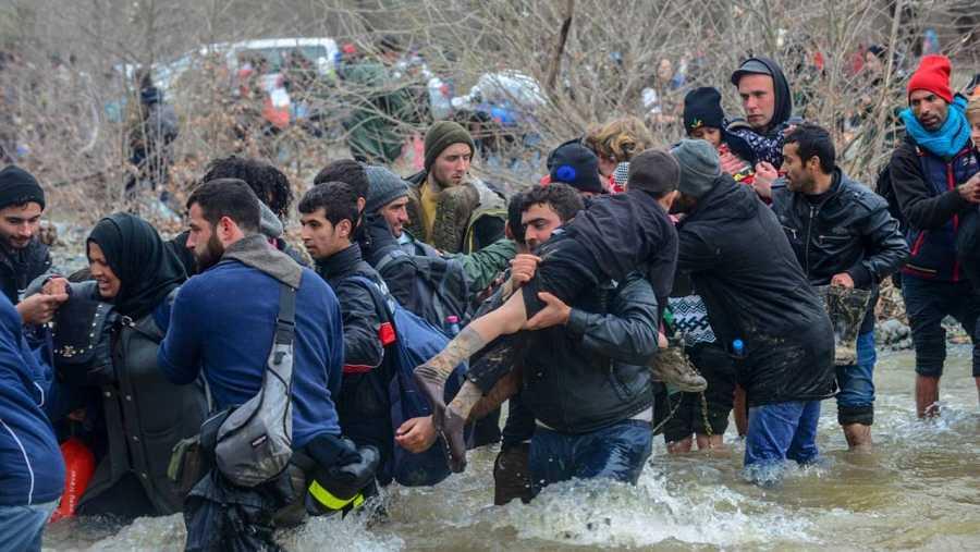 Más de 44.000 refugiados repartidos entre los distintos centros de acogida de Grecia.