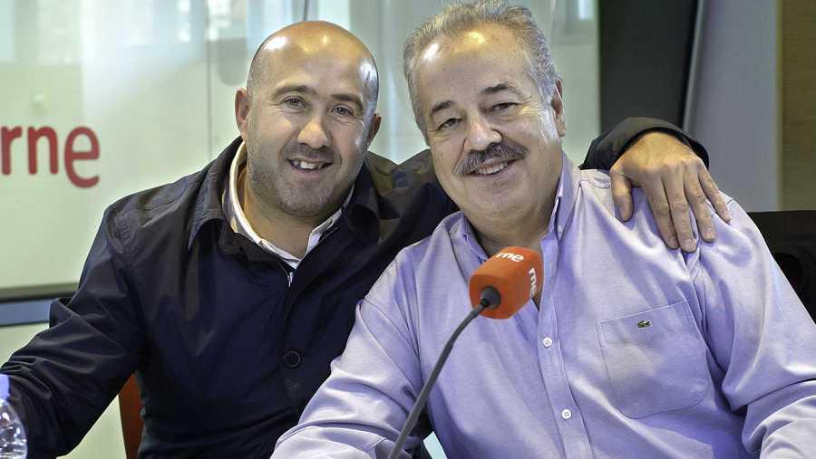 Carlos Caraglia y Leandro Blanco, en 'Las mañanas de RNE'