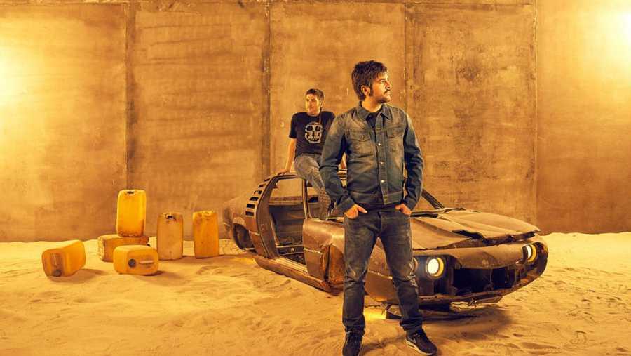 Jose y David Muñoz, en una imagen promocional de su nuevo álbum