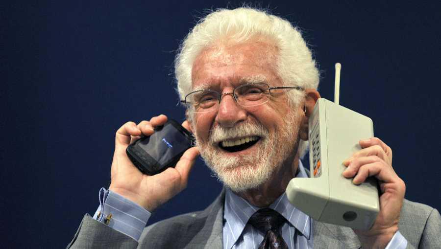 Martin Cooper, el padre de la telefonía móvil