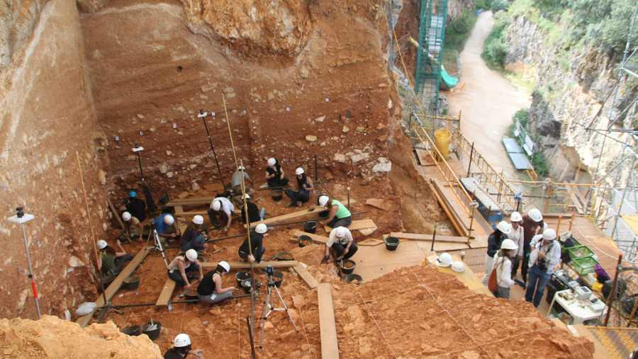 Yacimientos arqueológicos de Atapuerca, declarados Patrimonio de la Humanidad por la Unesco