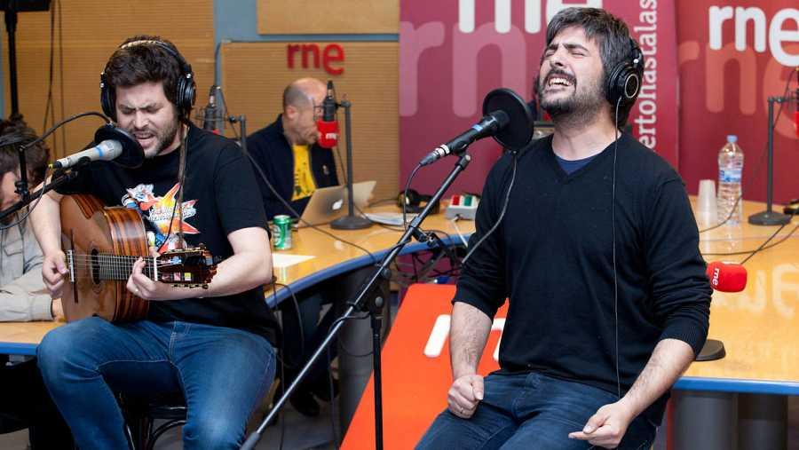 El dúo de Cornellá, en una de sus actuaciones