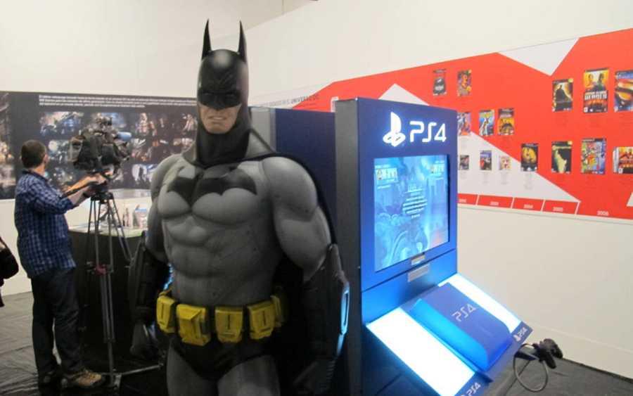 Zona de la exposición dedicada a los videojuegos