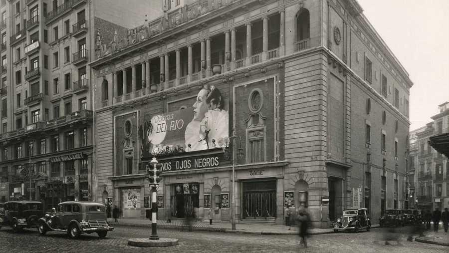 La mayoría de los cines de Gran Vía se construyeron en los años 20 y 30
