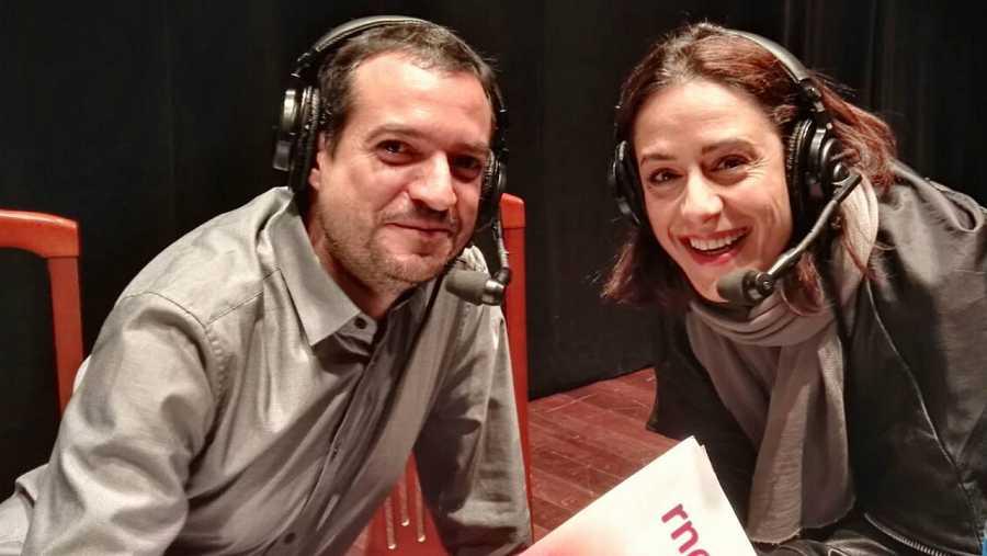 Luz Valdenebro y Daniel Galindo