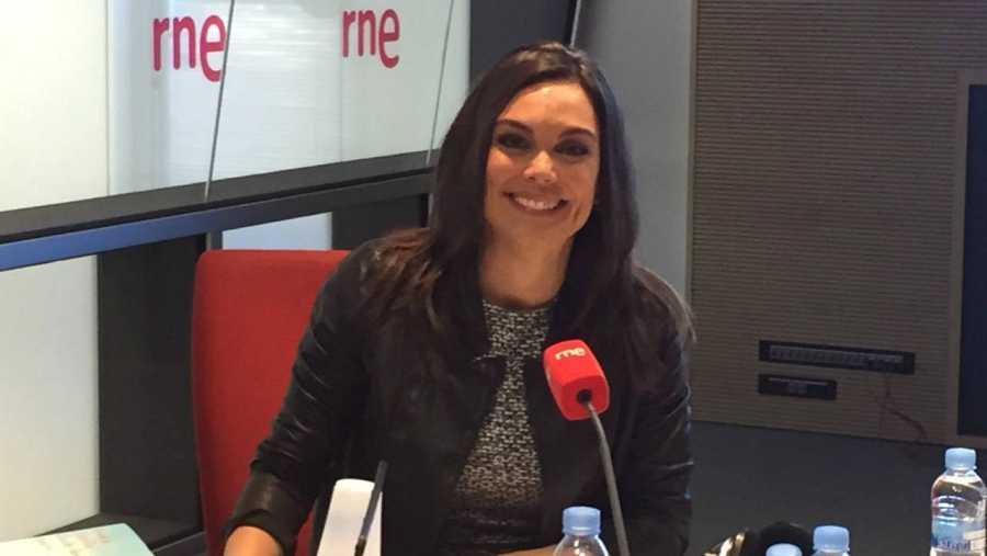 Mónica Carrillo, en RNE