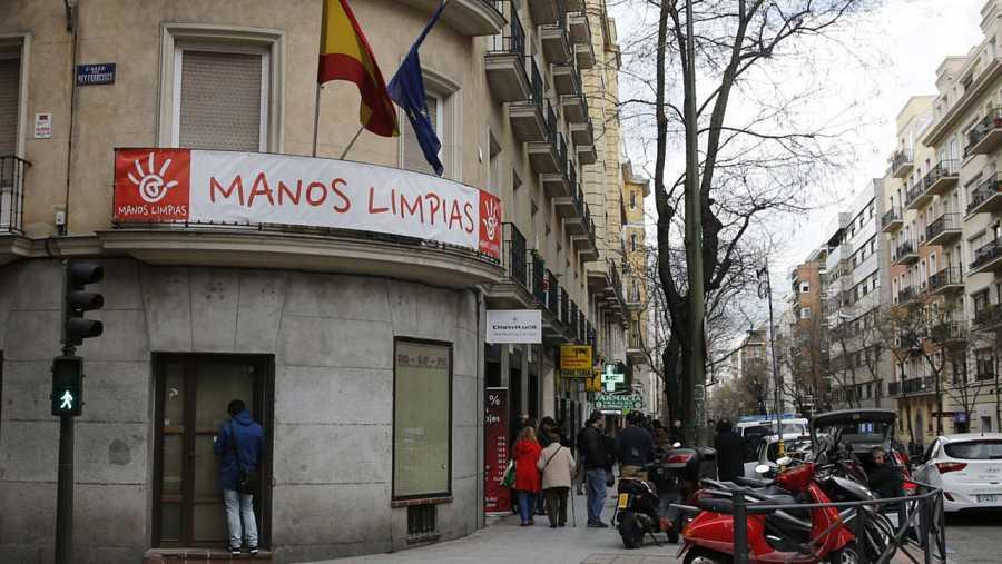 Sede del sindicato Manos Limpias