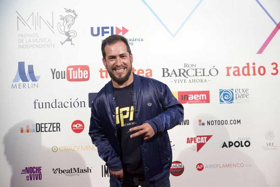 El Langui en los Premios MIN 2016