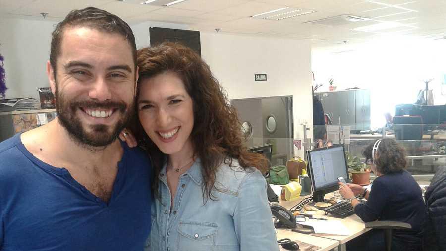 José Padilla y Laura Peláez