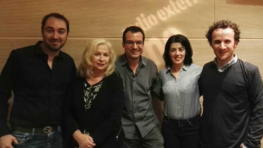 Irina Kouberskaya, Fernando J. López, Rocío Vidal e Iván Oriola