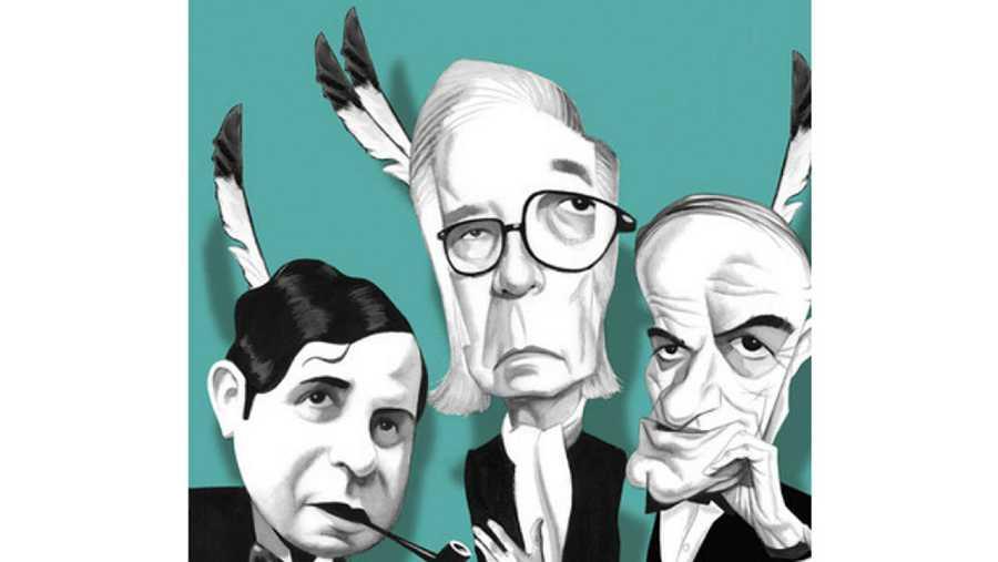 Imagen de la portada de 'Los últimos mohicanos' de Manuel Vicent