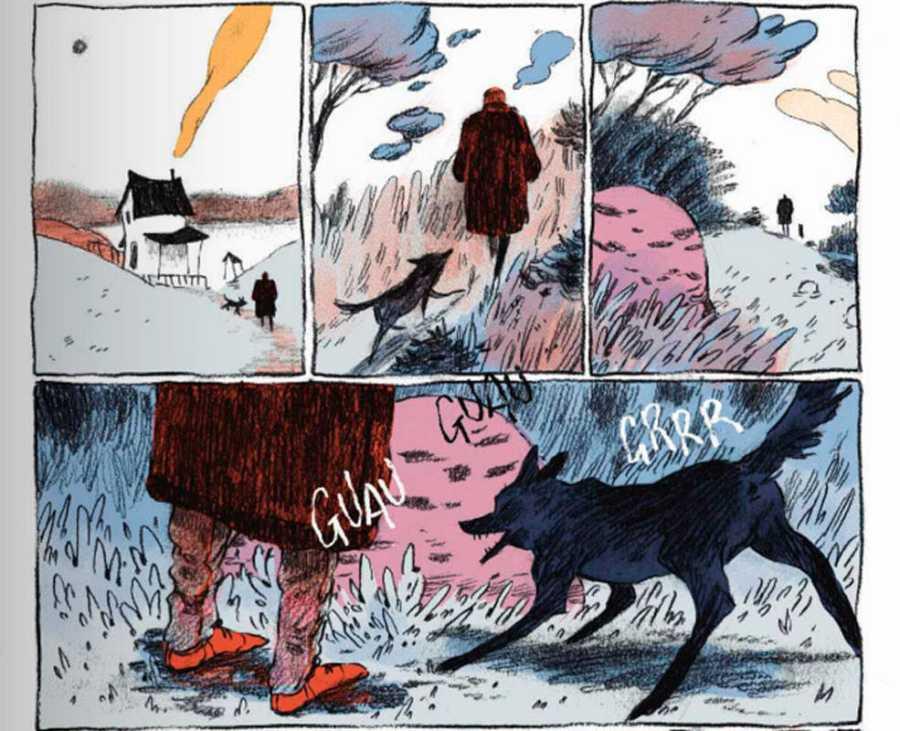 Viñetas de Núria Tamarit