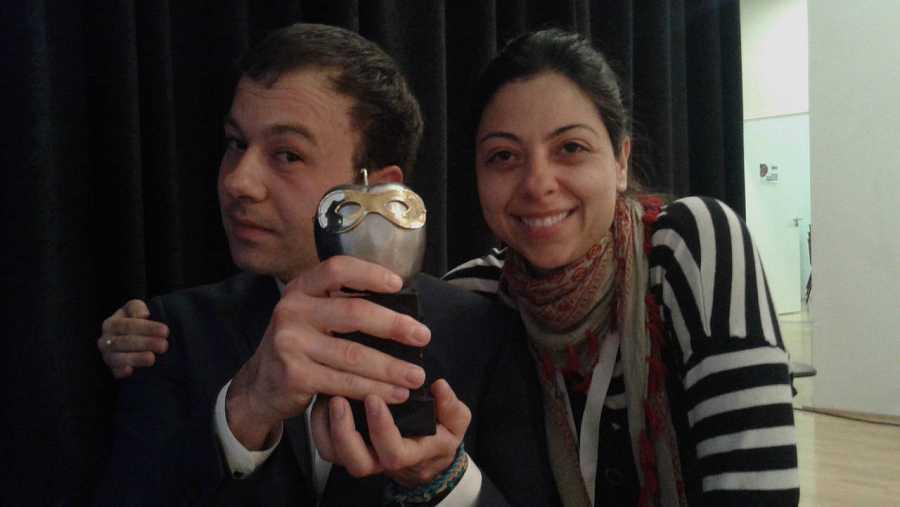 Víctor Sánchez y Paloma Cortina