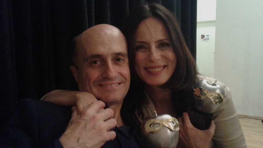 Aitana Sánchez-Gijón y Pepe Viyuela