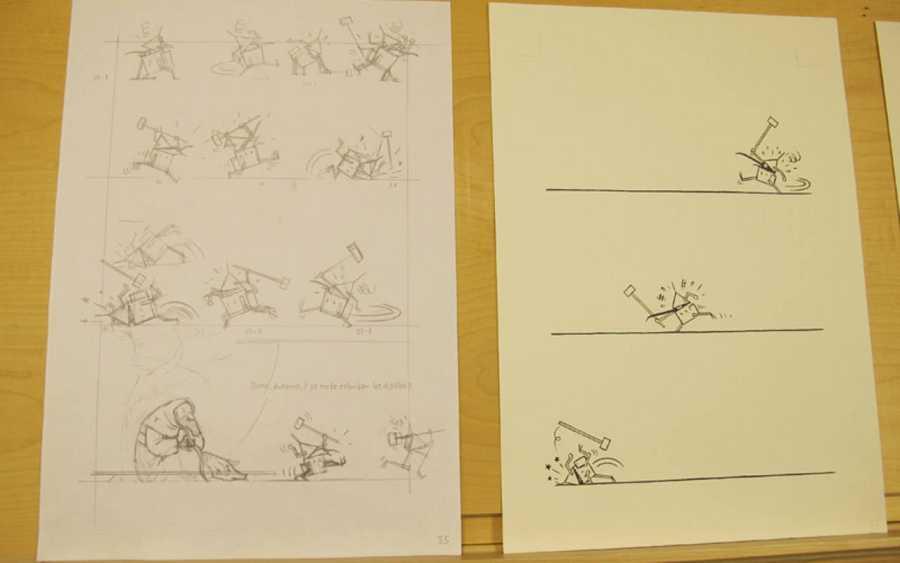 Bocetos de Max para 'El tríptico de los encantados'