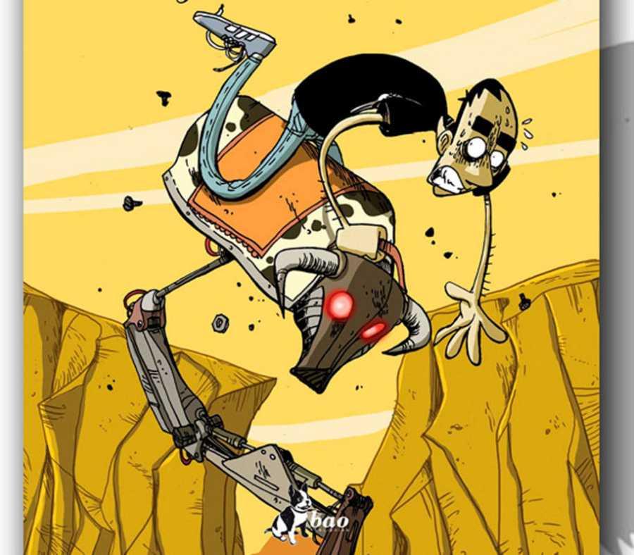Ilustración de 'La profecía del armadillo'