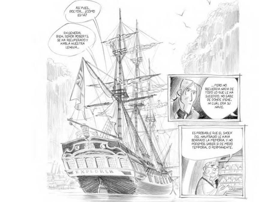 Viñetas de 'El puerto prohibido'