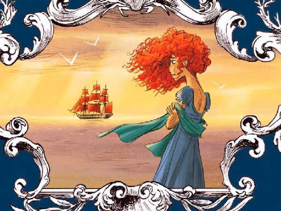 Ilustración de 'El puerto prohibido'