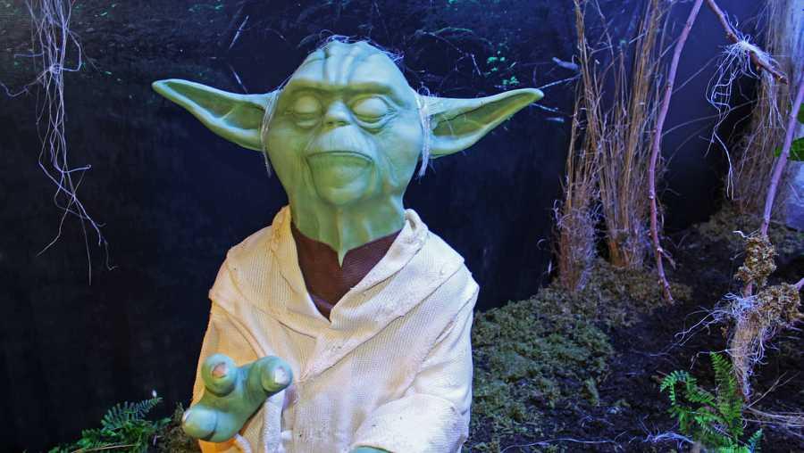 'Maqueta de garaje' de Yoda, uno de los personajes del universo Star Wars, propiedad de Gaby Navarro