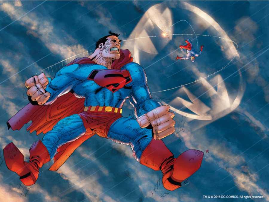 Portada de Frank Miller para el mini-cómic 'El Átomo'