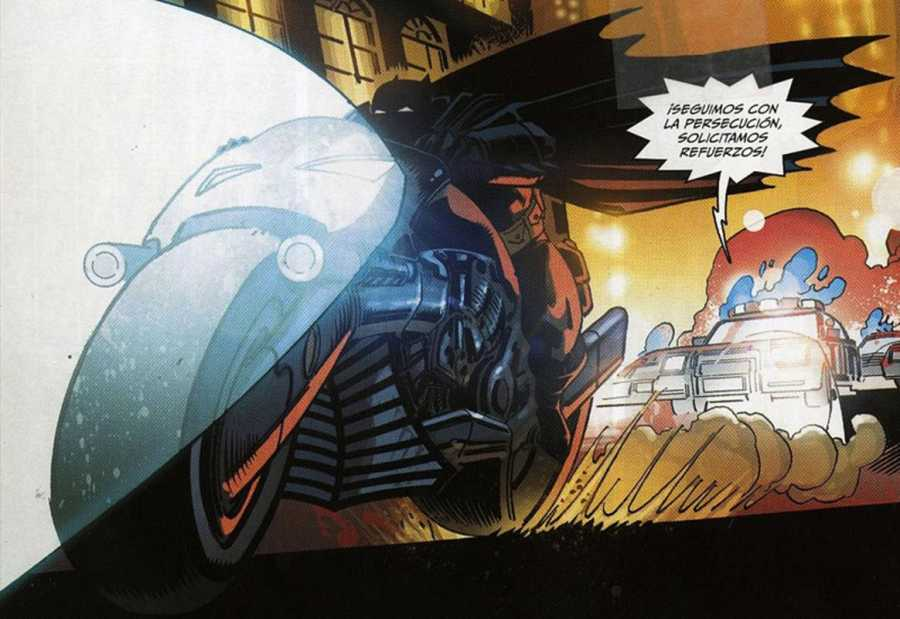 Viñeta de 'El Caballero Oscuro III', de Andy Kubert y Klaus Janson