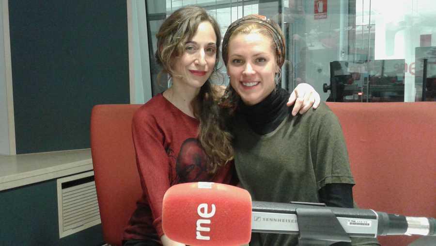 Maggie Civantos y Marta Aledo