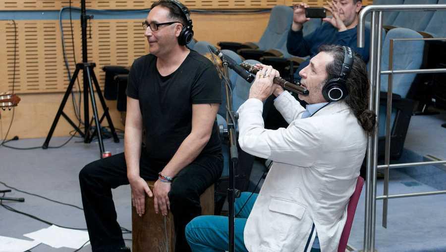 El flautista y saxofonista Jorge Pardo interpretó