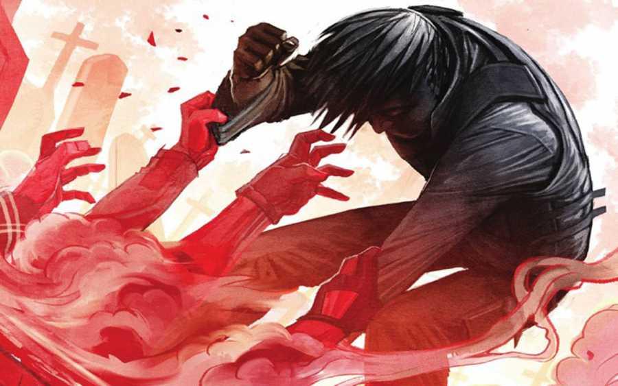 Fragmento de una portada de 'Riesgo suicida'